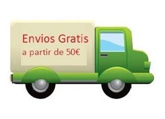 Envios GRATIS a partir de 50 €